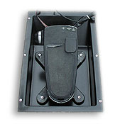 Everything Bass Flat Foot Recessed Tray for Trolling Motor Foot Control
