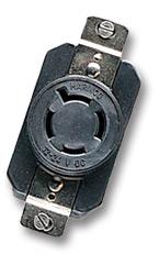 Marinco 12 24v Covered Trolling Motor Receptacle